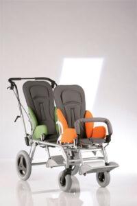 podwójny wózek kimba inline
