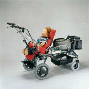 wózek kimba inline z aparatem tlenowym