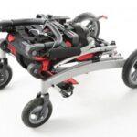 złożony wózek inwalidzki rodeo